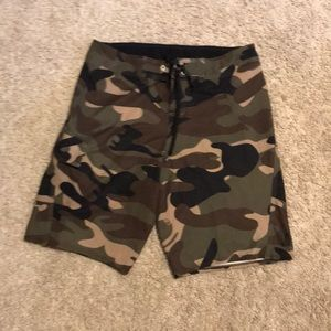 Camouflage Quicksilver swim shorts